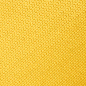 Sunflower Yellow Basket Weave Pocket Square