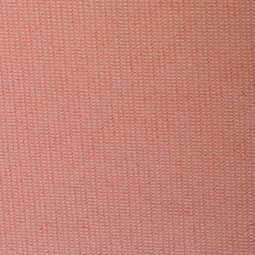 Sunset Peach Linen Twill Pocket Square