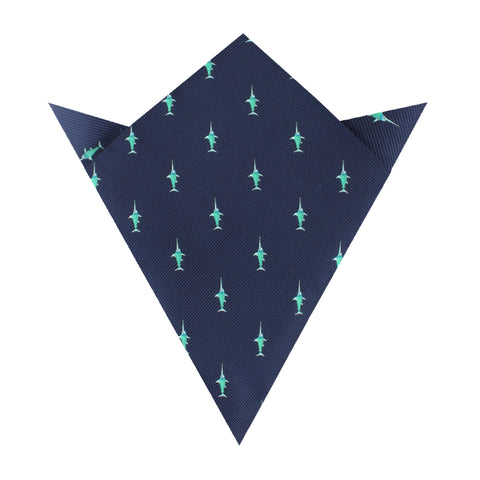 Swordfish Pocket Square
