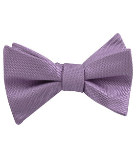 Tahiti Purple Weave Self Bow Tie