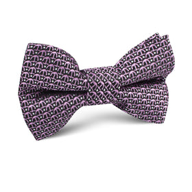 The Abacos Pink Anchor Kids Bow Tie