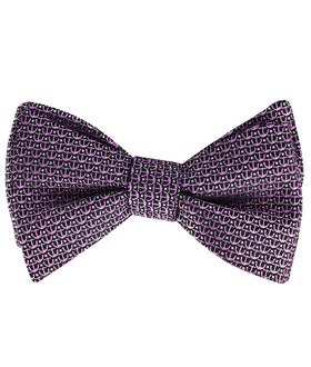 The Abacos Pink Anchor Self Bow Tie