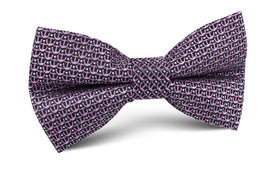 The Abacos Pink Anchor Bow Tie