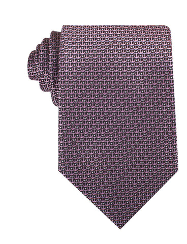 The Abacos Pink Anchor Necktie