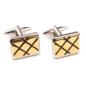The Classic Gold Cufflinks