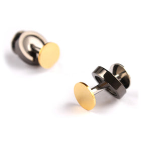 The Gold Gun Benjamin Button Cufflinks