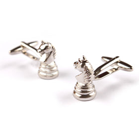 The Knight Chess Cufflinks