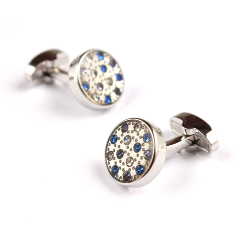 The Moroccan Blue Cufflinks