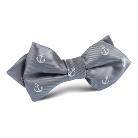 The OTAA Charcoal Grey Anchor Diamond Bow Tie