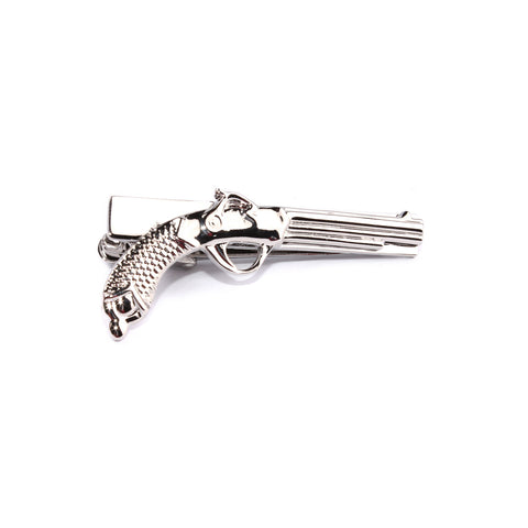 The Revolver Silver Tie Bar