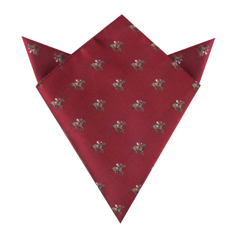 The Royal Ascot Racehorse Pocket Square
