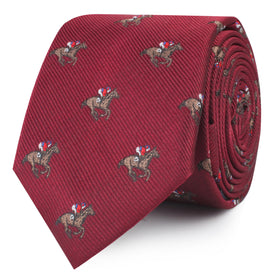 The Royal Ascot Racehorse Skinny Tie