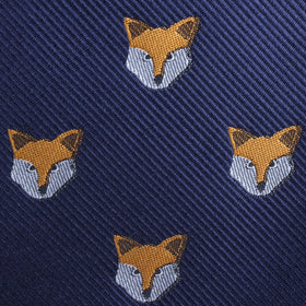 Tibetan Sand Fox Diamond Bow Tie