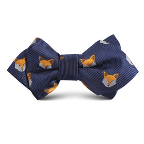 Tibetan Sand Fox Kids Diamond Bow Tie