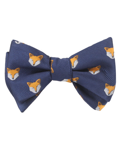 Tibetan Sand Fox Self Bow Tie