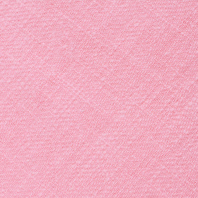 Tickled Pink Chevron Linen Pocket Square