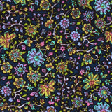 Tomba di Dante Floral Pocket Square Fabric