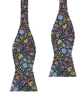 Tomba di Dante Floral Self Bow Tie