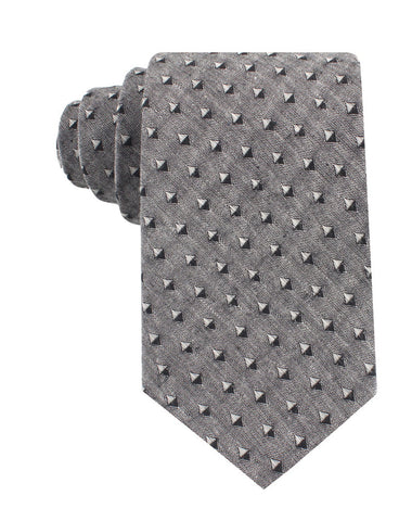 Totem Inception Black Linen Tie