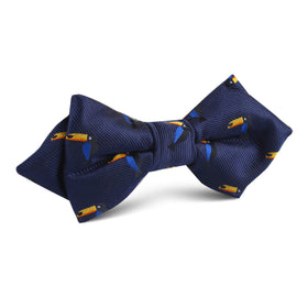 Toucan Bird Diamond Bow Tie
