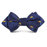 Toucan Bird Kids Diamond Bow Tie