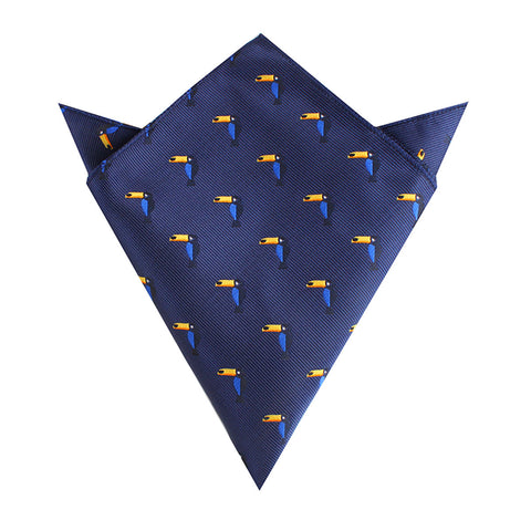 Toucan Bird Pocket Square