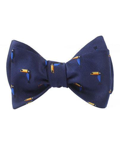 Toucan Bird Self Bow Tie