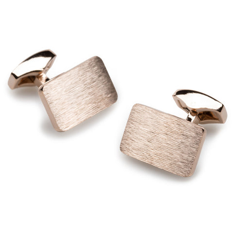 Toulouse Rose Gold Cufflinks
