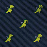 Toy T-Rex Necktie Fabric