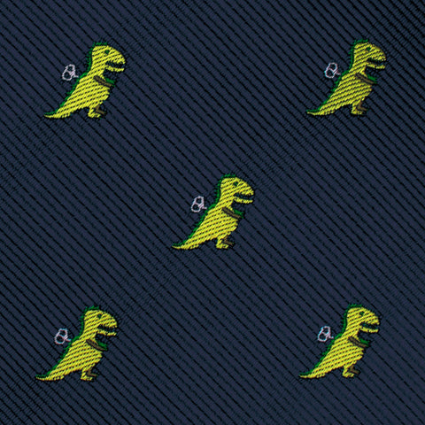 Toy T-Rex Pocket Square