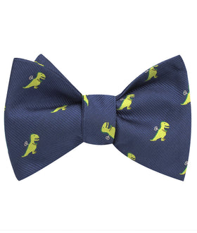 Toy T-Rex Self Bow Tie