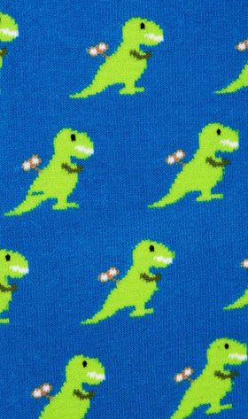 Toy T-Rex Socks