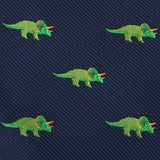 Triceratops Dinosaur Pocket Square Fabric