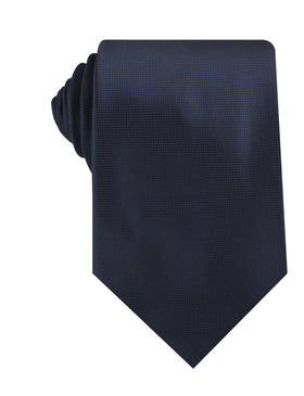 Trivieres Navy Blue Diamond Necktie