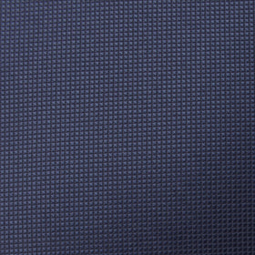 Trivieres Navy Blue Diamond Pocket Square