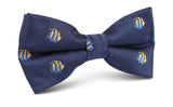Tropical Fijian Fish Bow Tie