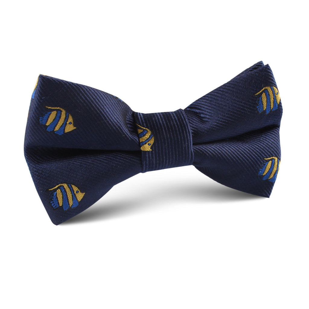 Tropical Fijian Fish Kids Bow Tie