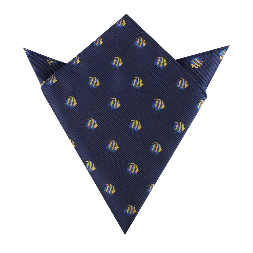 Tropical Fijian Fish Pocket Square