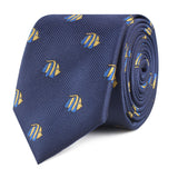 Tropical Fijian Fish Slim Tie