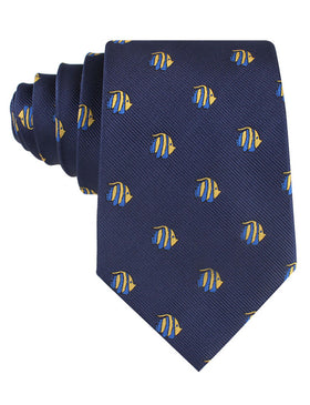 Tropical Fijian Fish Tie