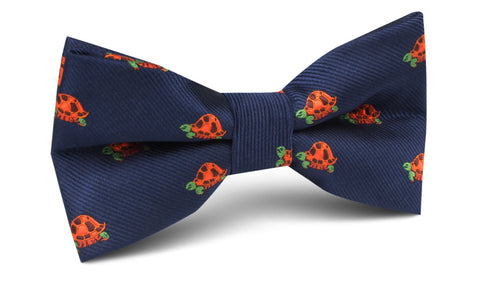 Tropical Turtle Bow Tie