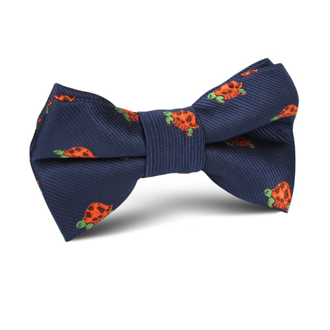 Tropical Turtle Kids Bow Tie