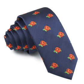 Tropical Turtle Skinny Tie