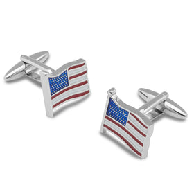 United States Flag Cufflinks
