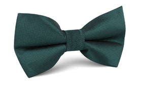 Venice Dark Green Diamond Bow Tie