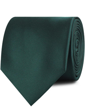 Venice Dark Green Diamond Necktie