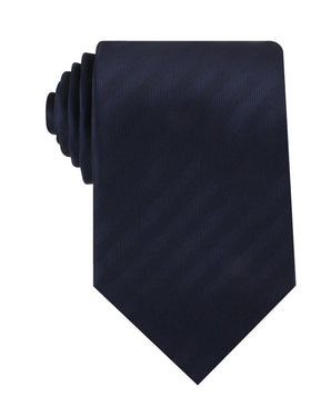 Venice Navy Blue Striped Necktie