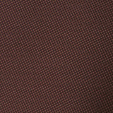 Vernazza Dark Brown Diamond Necktie Fabric