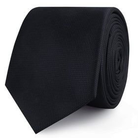 Vienna Black Diamond Skinny Tie
