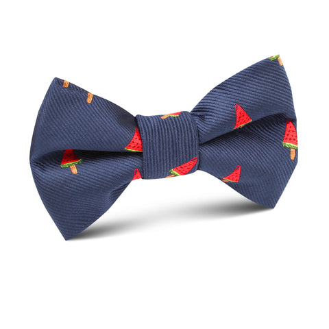 Watermelon Popsicle Kids Bow Tie
